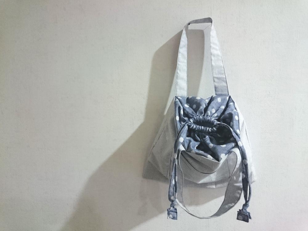 巾着トートバックの作り方