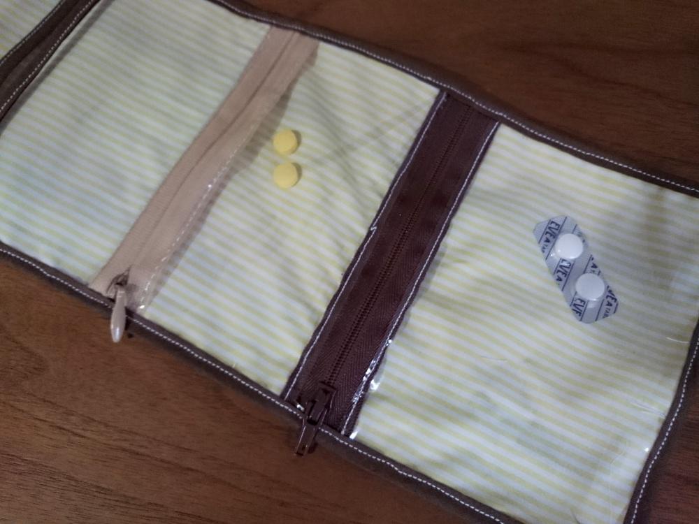 敬老の日に、お薬ポーチの作り方