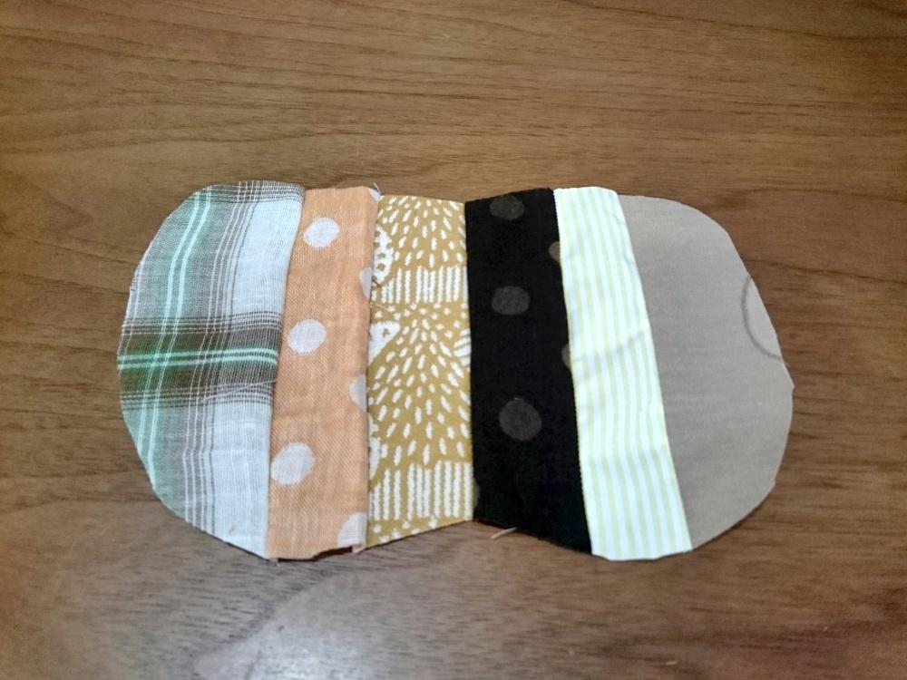 パンプキン鍋敷きの作り方