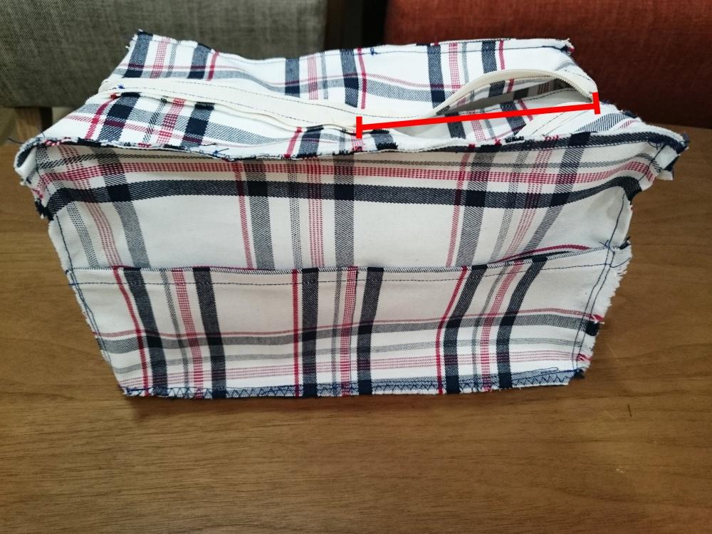 ボックスショルダーバックの作り方