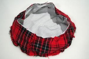ベレー帽の作り方