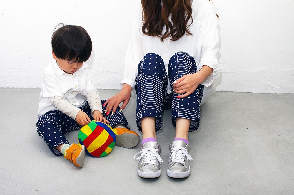 親子おそろいズボンの作り方