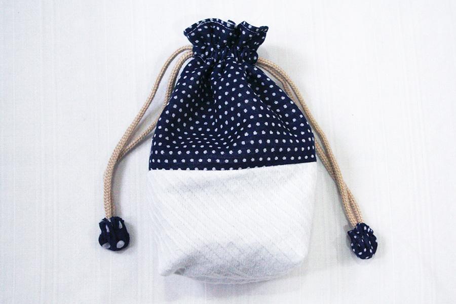 巾着袋の作り方