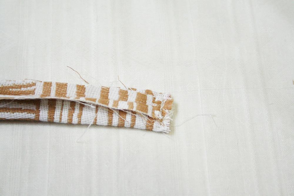 蝶ネクタイキットを使って作ってみた(蝶ネクタイの作り方)